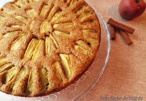 Vanille-Apfelkuchen