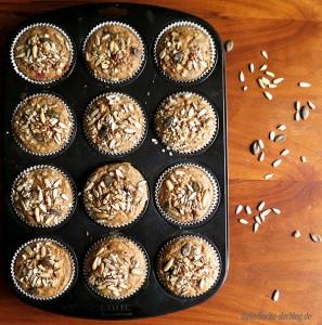 Vollwert Frühtücks Muffins