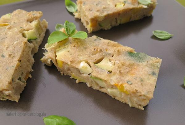 Herzhafte Zucchini Tarte