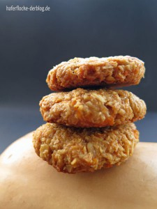 Kekse Kürbis Haferflocken vegan
