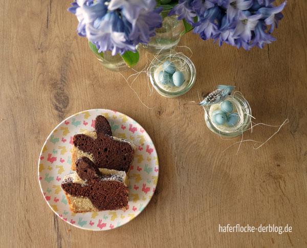 Marmorkuchen Häschen