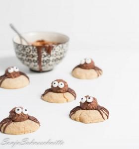 halloween-spider-cookies-SonjaSahneschnitte