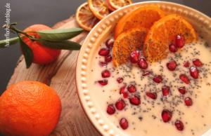 Mandarine-Mohn Porridge