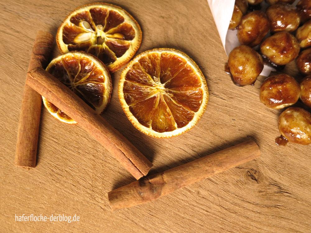 Gebrannte Zimt Ahorn Macadamias