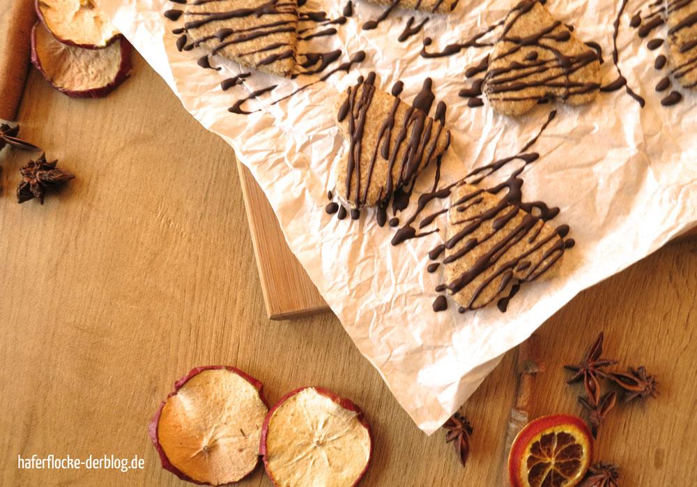 Dinkel Ahorn Anis Kekse