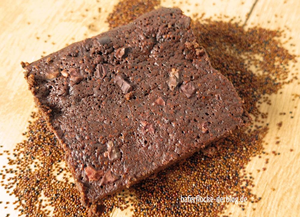 Knusper-Canihua Brownies