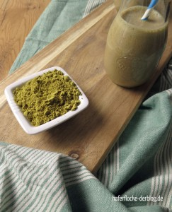 Mokka-Shake mit Kürbisprotein