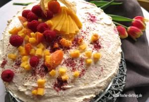 Fruchtige Käse-Sahne (vegetarisch)