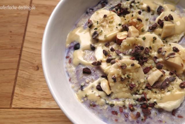 Schokoladig-nussiges Hirse-Porridge