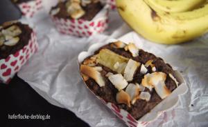 Schoko-Kokos-Bananenkuchen