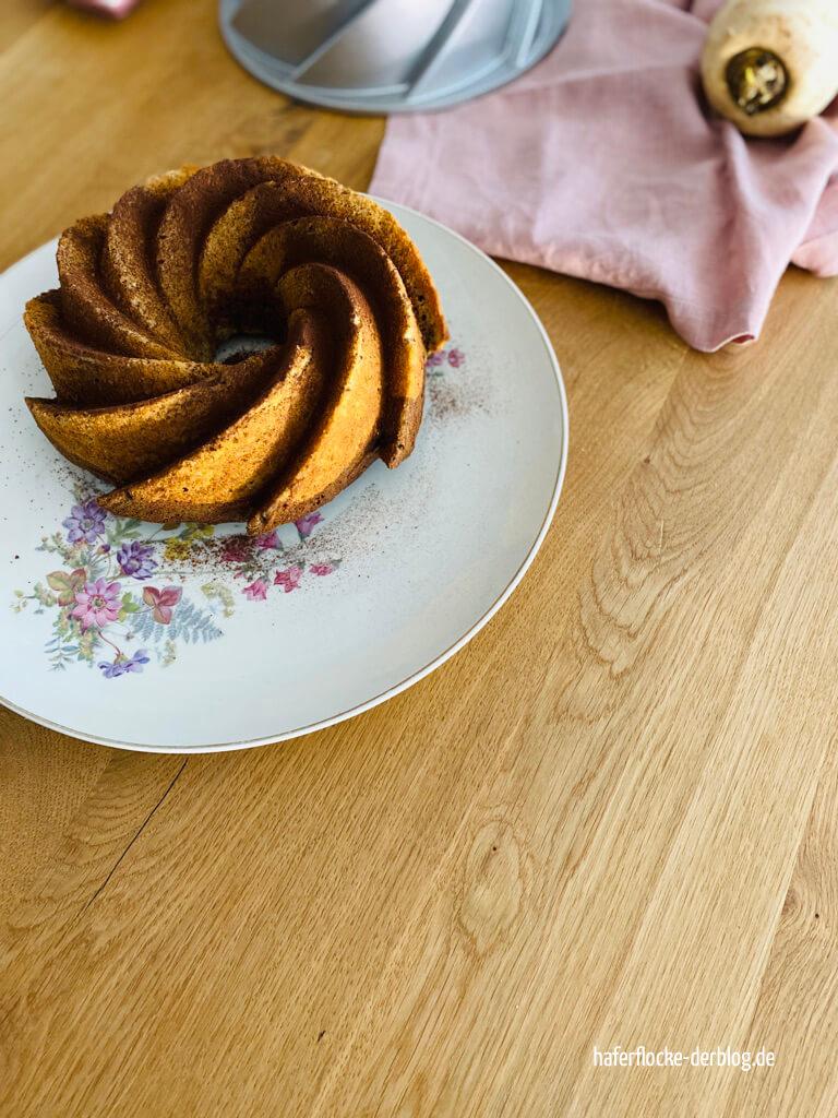 Rote Bete Pastinake Marmorkuchen