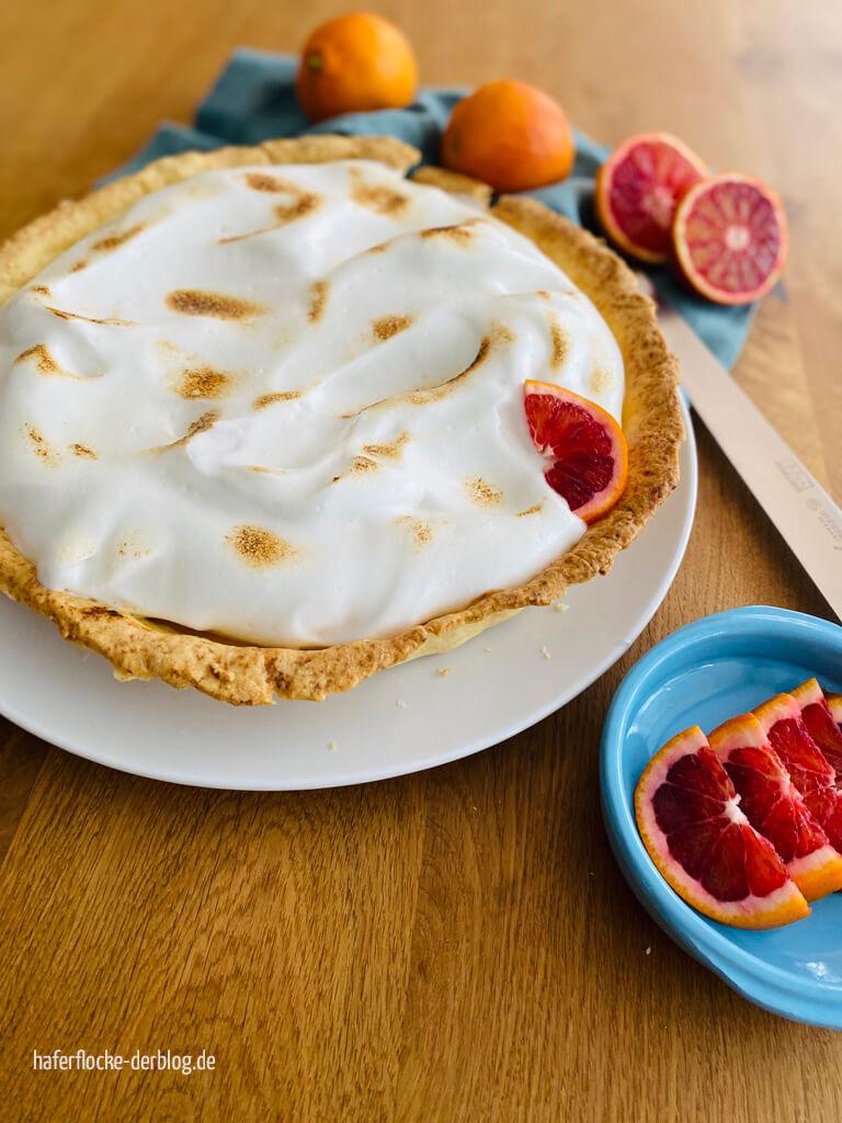 Veganer Meringue Pie