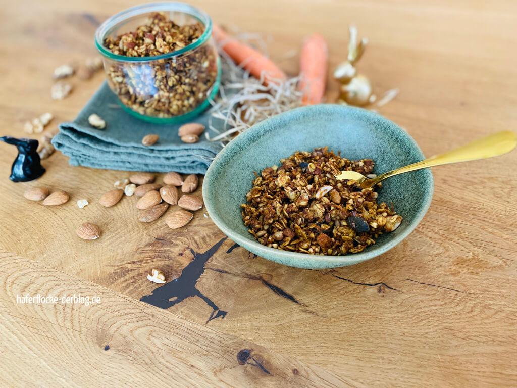 Granola mit Buchweizen