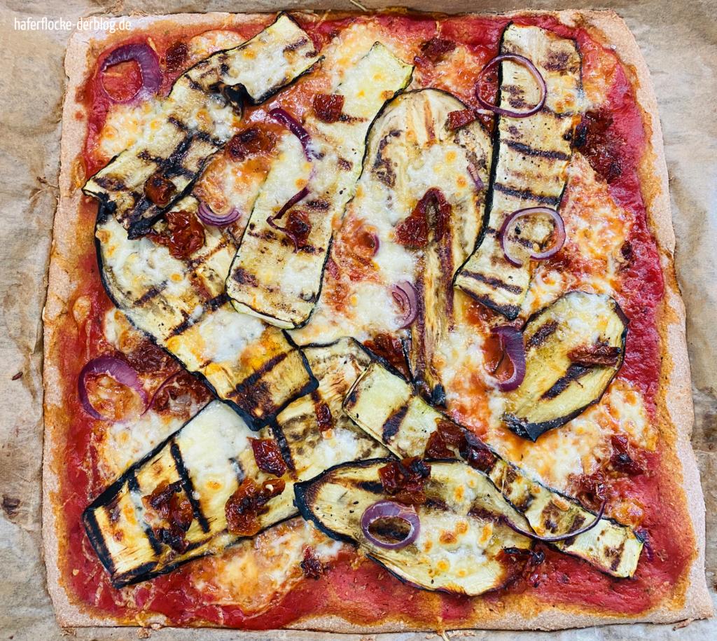 Pizza Blech Vollkornpizza